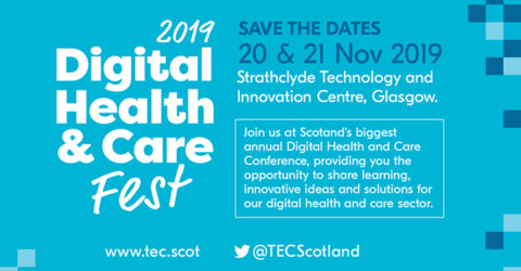 Scottish Digital Health and Care Conference 20 - 21 November 2019