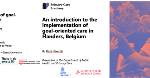 Goal-Oriented Care webinar - Knowledge Exchange with Flanders